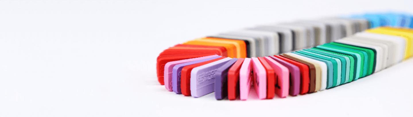 Signature Plastics Color Options